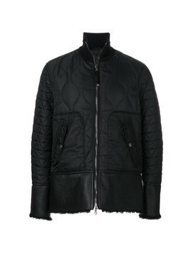 Diesel Black Gold fitted quilted jacket