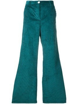 Masscob corduroy flared trousers - Blue