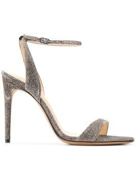 Alexandre Birman Willow 100 metallic sandals - Silver
