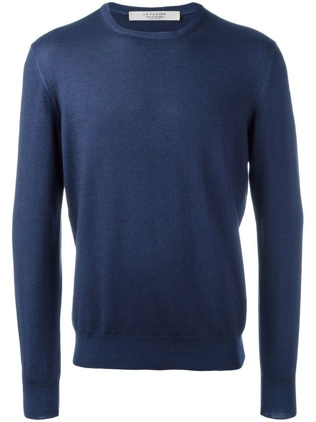 La Fileria For D'aniello fine knit jumper - Blue