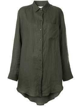Asceno longline shirt - Green