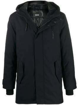 Mackage Faris hooded parka coat - Blue
