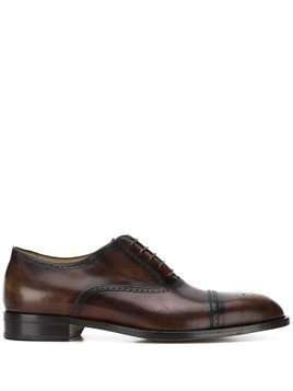 Paul Smith leather Oxford shoes - Brown