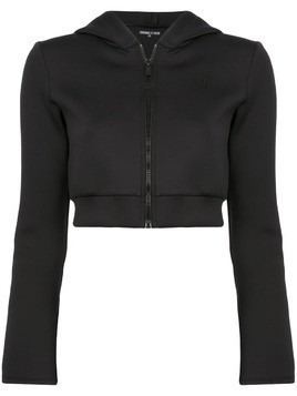 Cushnie Et Ochs zipped hooded jacket - Black