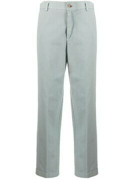Forte Forte 2010s cropped pre-owned trousers - Grey