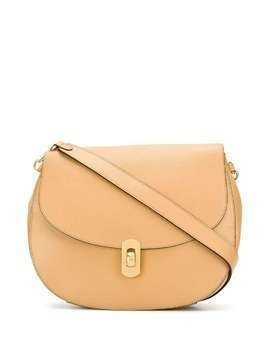 Coccinelle detachable-strap shoulder bag - NEUTRALS