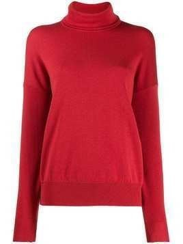 Indress turtleneck sweater - Red