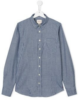 Bellerose Kids checked shirt - Blue