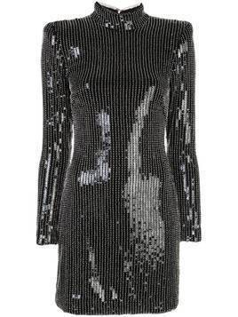 Haney Giorgia sequinned mini dress - Black