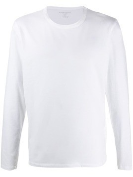 Majestic Filatures long sleeved cotton T-shirt - White