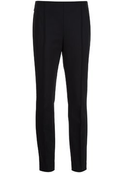 Lafayette 148 straight cropped trousers - Black