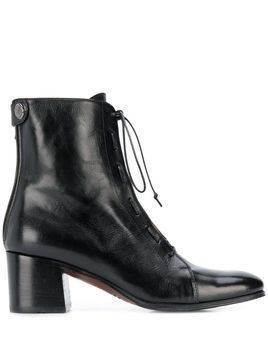 Alberto Fasciani lace up ankle boots - Black