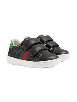 5c19b2ec016bb Gucci Kids Toddler Gucci Signature sneaker with Web - Black