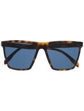 Karl Lagerfeld Cameo square sunglasses - Brown