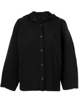Issey Miyake Cauliflower APOC hooded jacket - Black