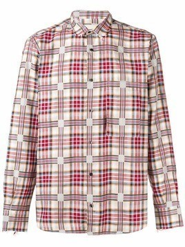 Corelate check shirt - Red