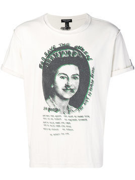Midnight Studios Sex Pistols Save the Queen T-shirt - White