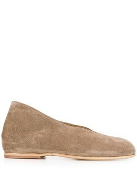 Measponte concealed wedge shoes - Neutrals