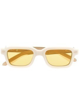 Jacques Marie Mage square tinted sunglasses - Neutrals