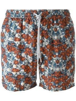 Capricode floral print swim shorts - Multicolour