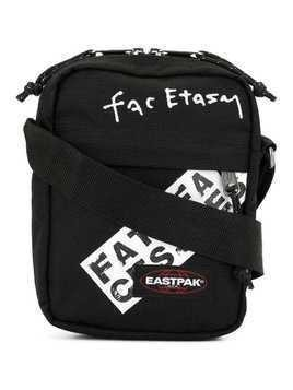 Facetasm Eastpak tape shoulder bag - Black