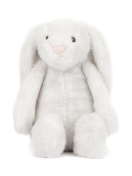 Jellycat fluffy rabbit - White