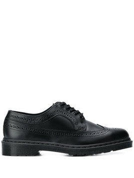 Dr. Martens perforated derby shoes - Black