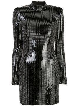 Haney Caterina beaded mini dress - Black