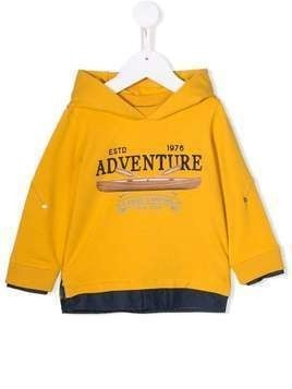 Lapin House printed hoodie - Yellow