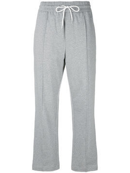 Haus By Ggdb wide leg track pants - Grey