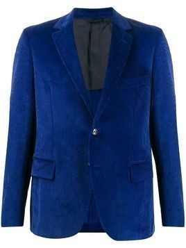 MP Massimo Piombo Andy corduroy blazer - Blue