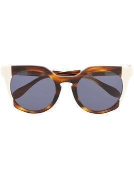 Carolina Herrera round-shaped sunglasses - Brown