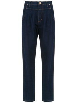Amapô pleated Kingston trousers - Blue