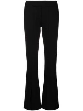Federica Tosi flared trousers - Black