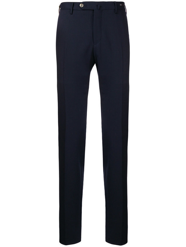 Pt01 slim trousers - Blue
