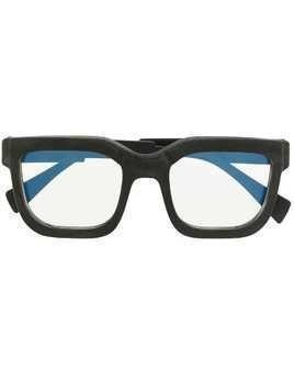 Kuboraum oversized square glasses - Black