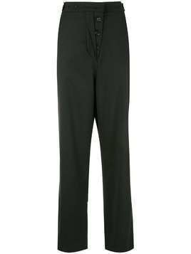 Ssheena wide leg straight trousers - Black