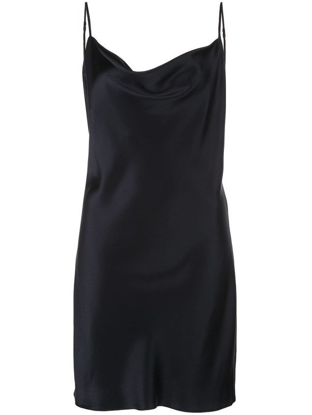 Fleur Du Mal sleeveless mini dress - Blue
