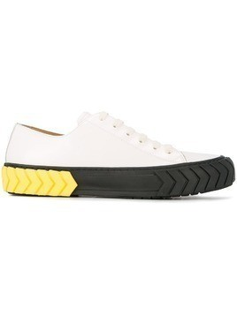 Both Tyres low-top sneakers - White