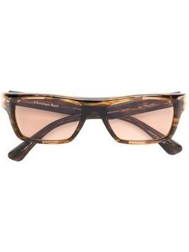 Christian Roth rectangular sunglasses - Brown