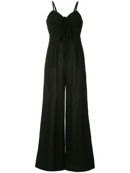 Suboo cut-out detail jumpsuit - Black