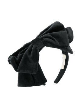 Douuod Kids oversized bow head band - Black