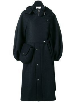 Henrik Vibskov Pump wool coat - Blue