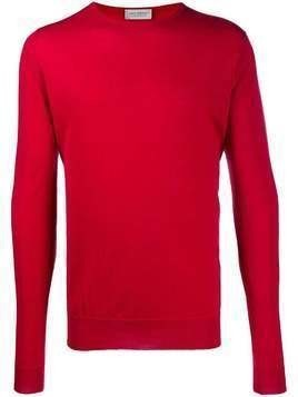 John Smedley Lundy crew neck sweater - Red