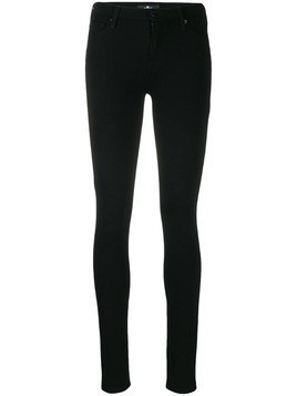 7 For All Mankind skinny fit trousers - Black