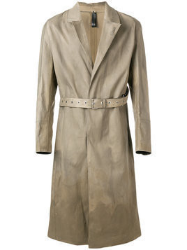 Alyx - Alyx x Mackintosh belted trench coat - Herren - Cotton - M - Brown