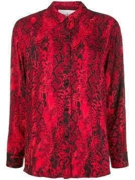 Ba&Sh Susi snakeprint shirt - Red