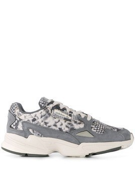 Adidas snakeskin effect sneakers - Grey