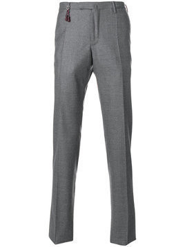 Incotex - slim trousers - Herren - Wool - 56 - Grey