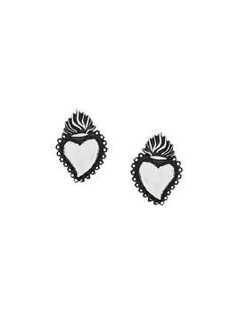 Ugo Cacciatori Ex Voto stud earrings - Metallic